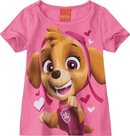 Blusa da Patrulha Canina - Skye - Rosa - Malwee