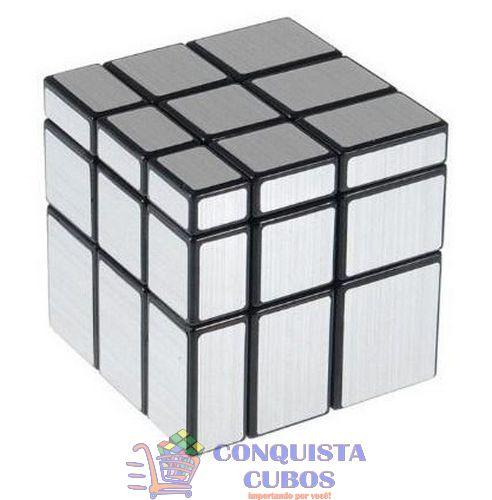 CUBO MÁGICO 3X3X3 MIRROR BLOCKS SHENGSHOU PRATA