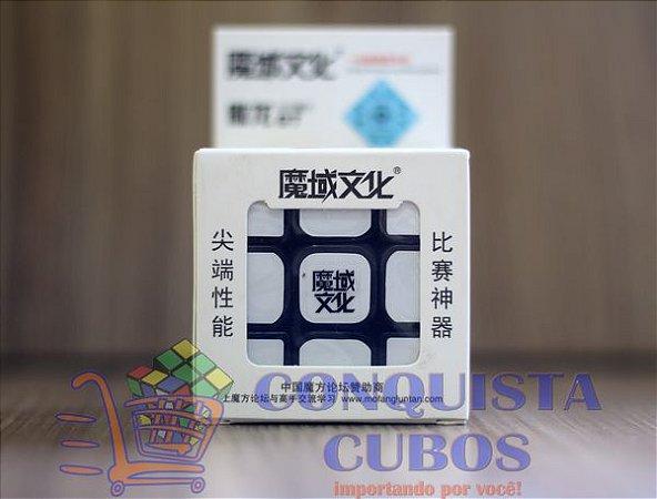 CUBO MÁGICO 3X3X3 MOYU AOLONG GT PRETO