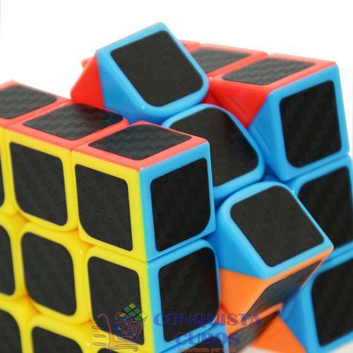Cubo Mágico 3x3x3 Fangcun Freshman Carbono