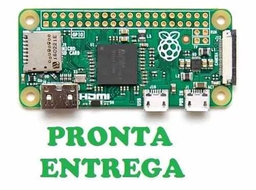 RASPBERRY PI ZERO V 1.3 COM CONECTOR P/CÂMERA PRONTA ENTREGA