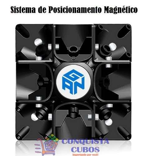 CUBO MÁGICO 3X3X3 GANS GAN 356 AIR UM ULTIMATE MAGNÉTICO