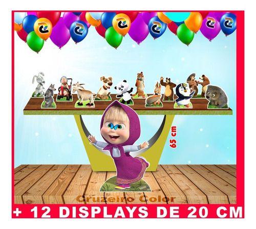Totens Masha Eo Urso Displays De Mesa 65 Cm E 20 Cm
