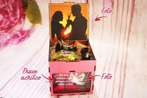 Presente Criativo Dias Dos Namorados( dois corações)