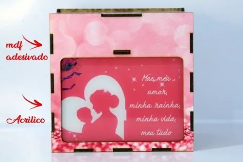 Presente Luminária Personalizado Criativo Dia Das Mães