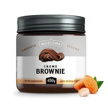 Creme Brownie Vegano 450g - Nutríssima