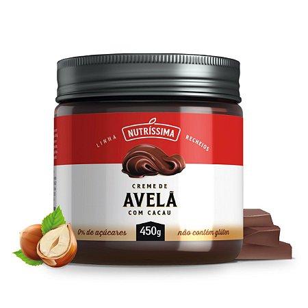 Creme Avelã Com Cacau 450g - Nutríssima