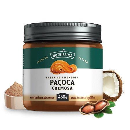Pasta de Amendoim Paçoca Cremosa 450g - Nutríssima