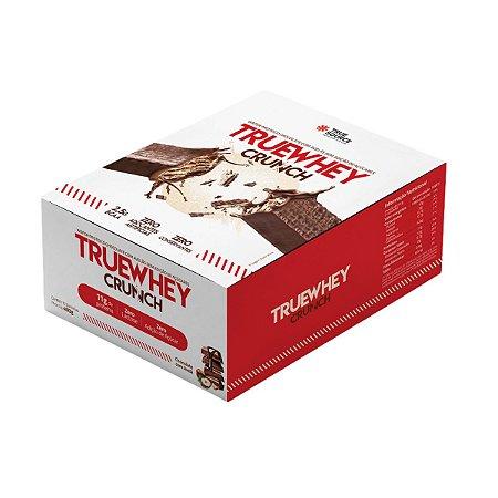 True Whey Crunch Chocolate Com Avelã 12 Unidades - True Source