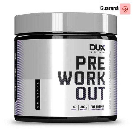 Pre Workout Original Guaraná 300g - Dux Nutrition