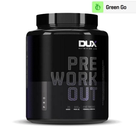 Pre Workout Pro 3.0 Frutas Verdes 600g - Dux Nutrition