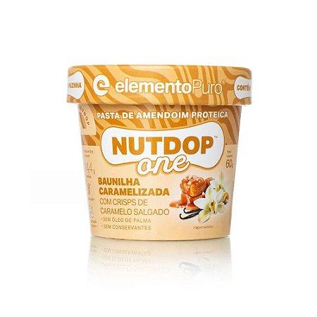 NutDop One Baunilha Caramelizada 60g - Elemento Puro