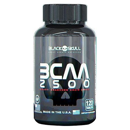 BCAA 2500mg 120 Tabs - Black Skull