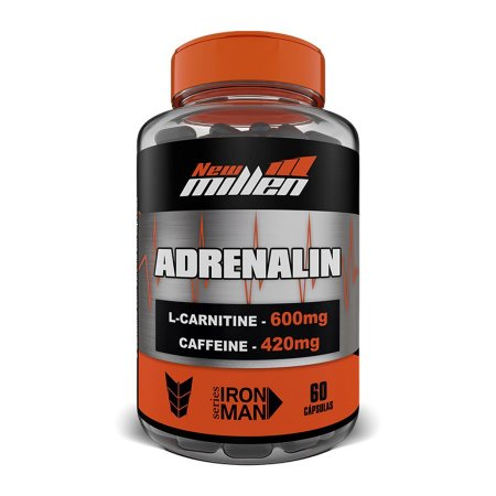 Adrenalin 420mg 60 Cápsulas - New Millen