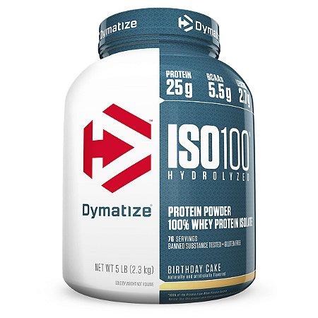 Iso 100 5Lbs (2,27Kg) - Dymatize