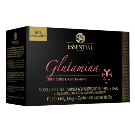 Glutamina 30 Sachês - Essential Nutrition