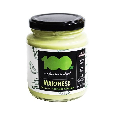 Maionese 110g - 100 Foods
