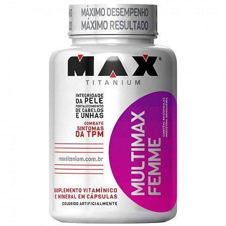 Multimax Femme (60 Cáps) - Max Titanium