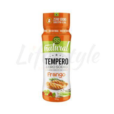 Tempero Frango Zero Sódio - SS Natural