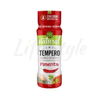 Tempero Pimenta Zero Sódio - SS Natural