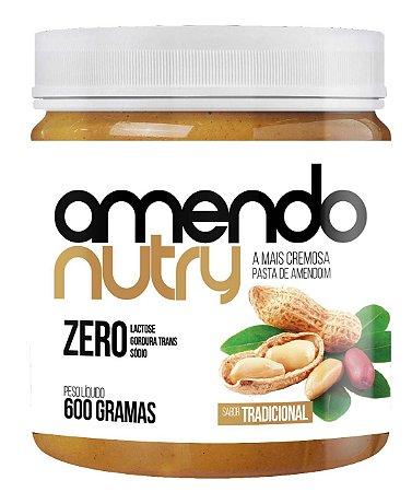 Pasta de Amendoim Cremosa 600g - AmendoNutry