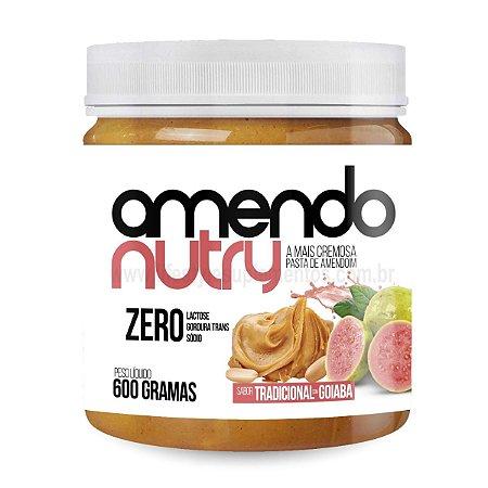 Pasta de Amendoim Com Goiaba 600g - AmendoNutry