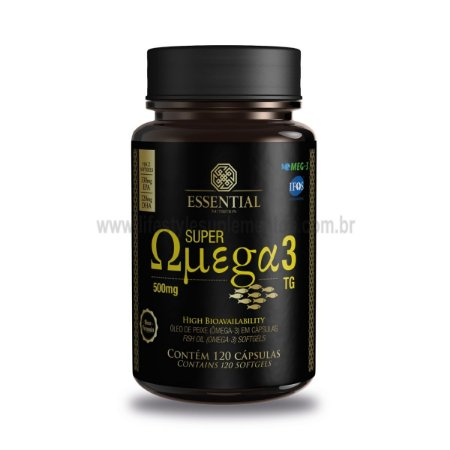 Super Omega 3 500mg (120 Cáps) - Essential Nutrition