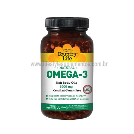 Omega 3 50 Softgels - Country Life