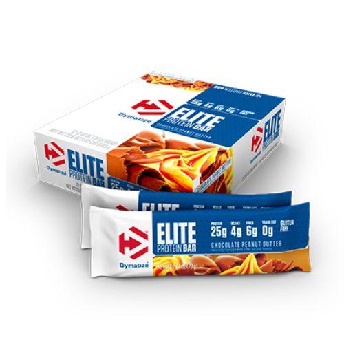 Elite Protein Bar Cx 12 Und. Chocolate Peanut Butter - Dymatize Nutrition