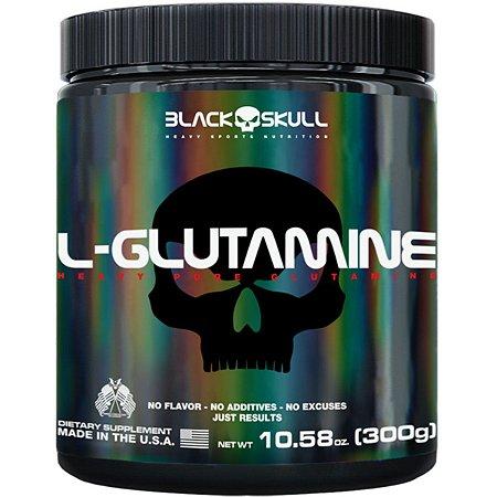 Glutamine 300g - Black Skull