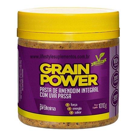 Pasta De Amendoim Com Uva Passa 1010g - Thiani Alimentos