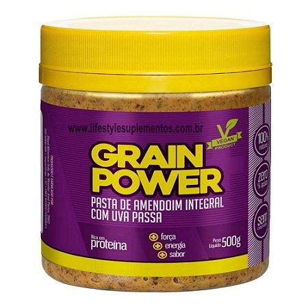 Pasta De Amendoim Com Uva Passa 500g - Thiani Alimentos
