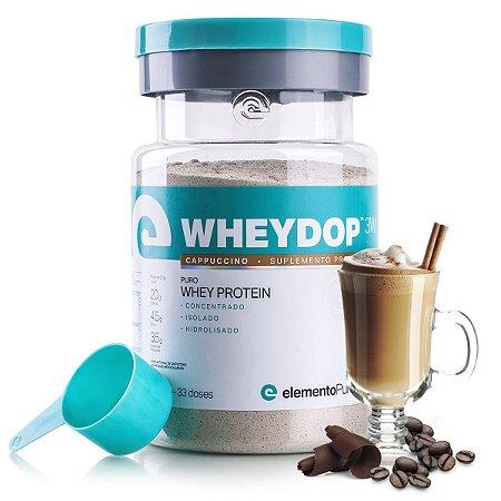 WheyDop 3W 900g Cappuccino - Elemento Puro