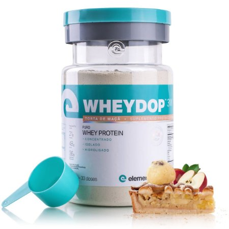 WheyDop 3W 900g Torta de Maçã - Elemento Puro