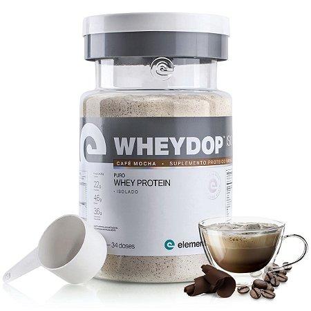 WheyDop Iso (900g) Café Mocha - Elemento Puro