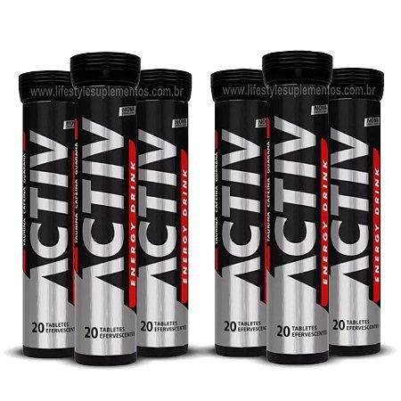 Activ Energy Drink Display 6x20 Tabletes - Eurovit