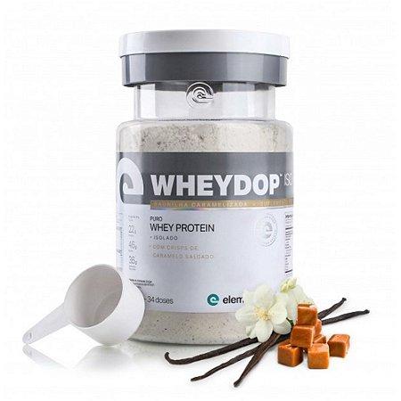 WheyDop Iso (900g) Baunilha Caramelizada - Elemento Puro