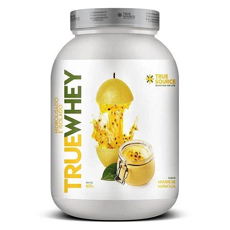 True Whey Protein Hidrolisado Mousse de Maracujá 837G - True Source