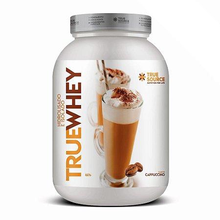 True Whey Protein Hidrolisado Cappuccino 837G - True Source
