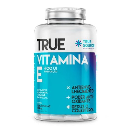 Vitamina E 100 cápsulas - True Source
