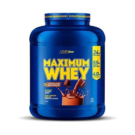 Maximum Whey Chocolate Milkshake 2,272g - Blue Series