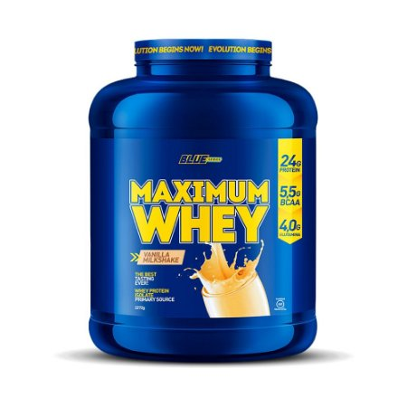 Maximum Whey Vanilla Milkshake 2,272g - Blue Series