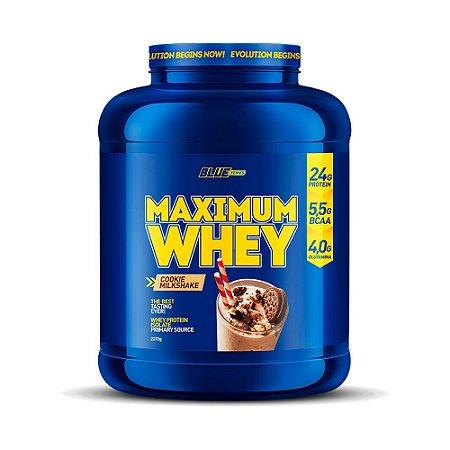 Maximum Whey Cookie Milkshake 2,272g - Blue Series