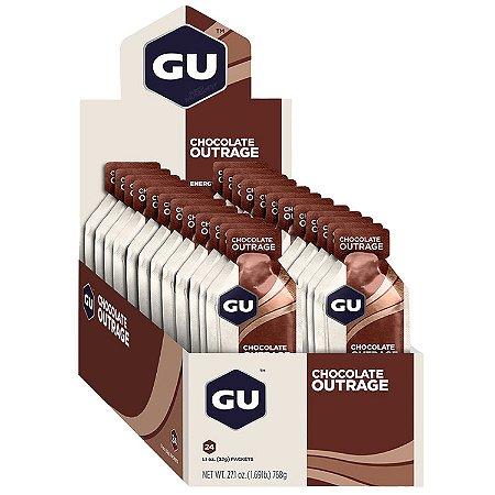 GU Energy Gel Chocolate Caixa 24 Sachês - GU