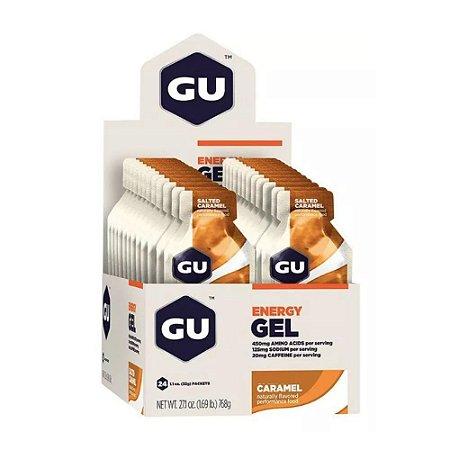 GU Energy Gel Caramelo Caixa 24 Sachês - GU
