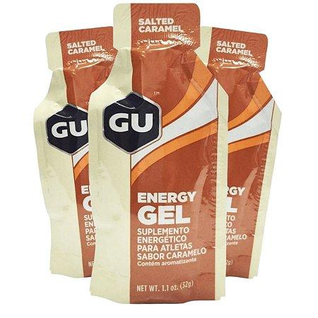 Kit 8 Und GU Energy Gel Caramelo - GU