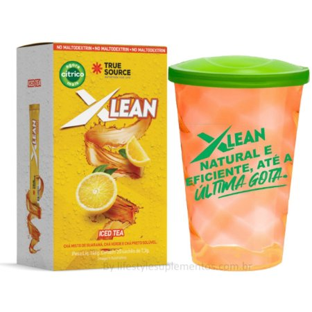 Xlean Ice Tea (20 Sachês) - True Source