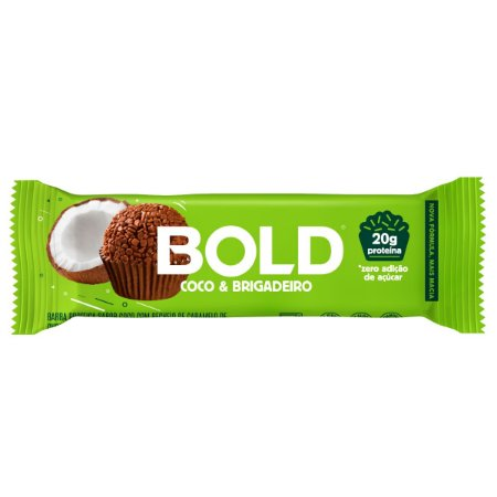 Bold Bar Coco & Brigadeiro - Bold Snaks