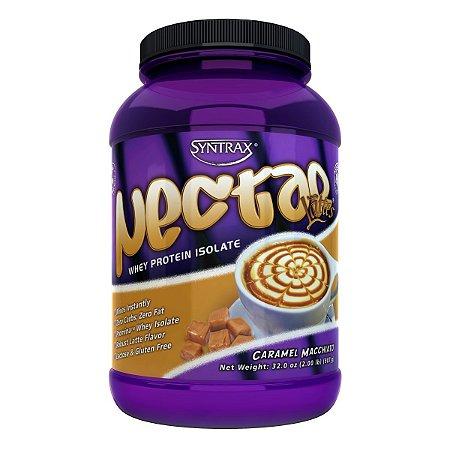 Nectar Whey Protein Isolado Café com Caramelo 907g - Syntrax