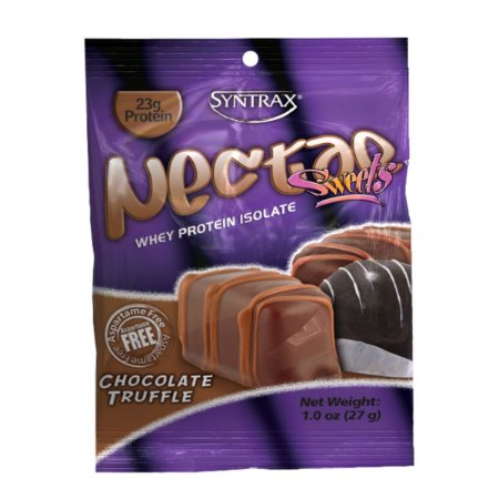 Nectar Whey Protein Isolado Chocolate Trufado Sachê 27g - Syntrax